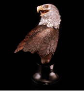 Majestic Beauty Eagle Bust