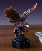 Swooping Eagle Statue