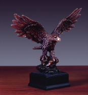 Young Eagle Sculpture