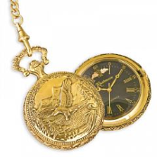 Black Hills Gold Eagle Pocket Watch