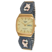 Men's Black Hills Gold Eagle Watch