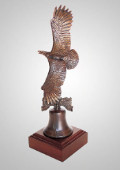 Proud to be American Eagle Sculpture