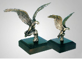 Vigilance Eagle Sculpture
