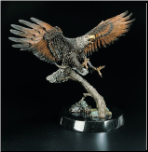 The Creator's Messenger Eagle Sculpture (SKU: 3171LE)