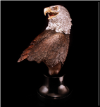 Majestic Beauty Eagle Bust (SKU: 3557LE)
