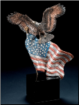 Reaching Higher Eagle Sculpture (SKU: 8003LE)