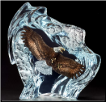 Strength and Honor Eagle Sculpture (SKU: 8393LE)