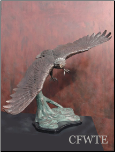 Airspeed Bronze Eagle Sculpture (SKU: AE0113)