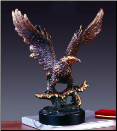 Landing Eagle Sculpture (SKU: M-11105)