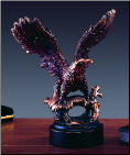 Perched Eagle Statue (SKU: M-11112)