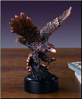 Swooping Eagle Statue (SKU: M-11115)