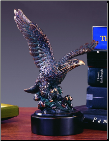 Diving Eagle Sculpture (SKU: M-31102)