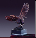 Small Landing Eagle Statue (SKU: M-51123)