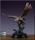 Large Diving Eagle Statue (SKU: M-51134)