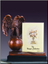 Eagle on Globe with Picture Frame (SKU: M-51157)