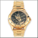 Men's Gold Tone Black Hills Gold Eagle Watch (SKU: WR21602)