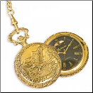 Black Hills Gold Eagle Pocket Watch (SKU: WR7010)