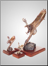 Attack Eagle Sculpture (SKU: A327B)