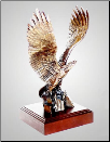 Break Away Eagle Sculpture (SKU: A328)
