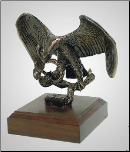 The Challenge Eagle Sculpture