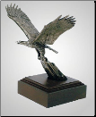 Forward Eagle Sculpture (SKU: A174)