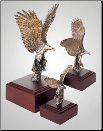 """Highest Flyer "" Eagle Sculpture (SKU: A222)"