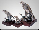"""Perfect Vision"" Eagle Sculpture (SKU: A130)"