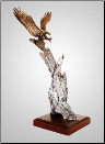 """Thunderbird"" Eagle Sculpture (SKU: A249)"