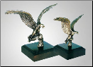 Vigilance Eagle Sculpture (SKU: A190)