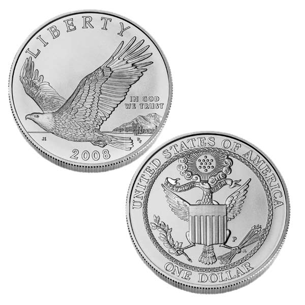 1 Dollar Silver Eagle Coin