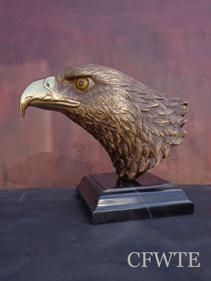 Bronze Eagle Bust