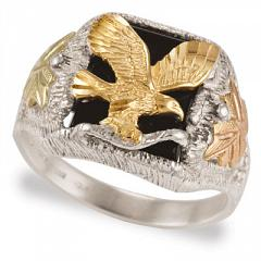 Sterling Silver BHG Eagle Rings