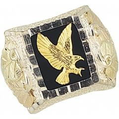 Black Hills Gold Eagle Rings