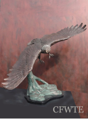 Airspeed Bronze Eagle Sculpture
