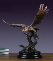 Large Diving Eagle Statue