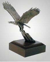 Forward Eagle Sculpture