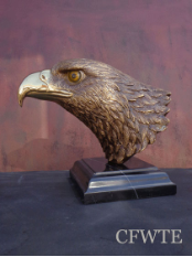 Freedom of the Sky Eagle Bust