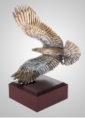 Above and Beyond Eagle Sculpture
