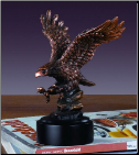 Swooping Eagle Sculpture (SKU: M-11114)