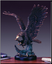 Hunting Eagle Statue (SKU: M-11117)