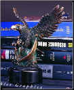 Eagle & Flag Sculpture (SKU: M-31101)
