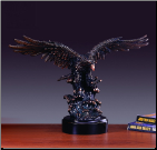 Swooping Eagle Statue (SKU: M-31104)
