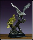 Two of a Kind Eagle Sculpture (SKU: M-41130)