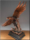 Free Flight Eagle Statue (SKU: M-51120)