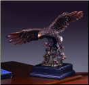 Diving Eagle Statue (SKU: M-51122)