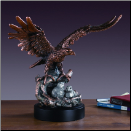 Eagle and Babies Sculpture (SKU: M-51135)