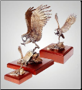 Dead Aim Eagle Sculpture (SKU: A219)