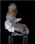 Windwalker Eagle Sculpture (SKU: 3135LE)