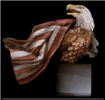Symbols Of Honor Eagle Sculpture (SKU: 3552LE)