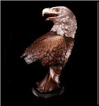 American Beauty Eagle Bust (SKU: 3556LE)